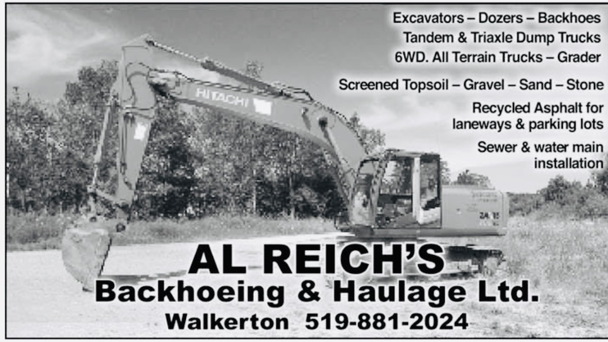 Al Reich Backhoeing & Haulage Ltd.