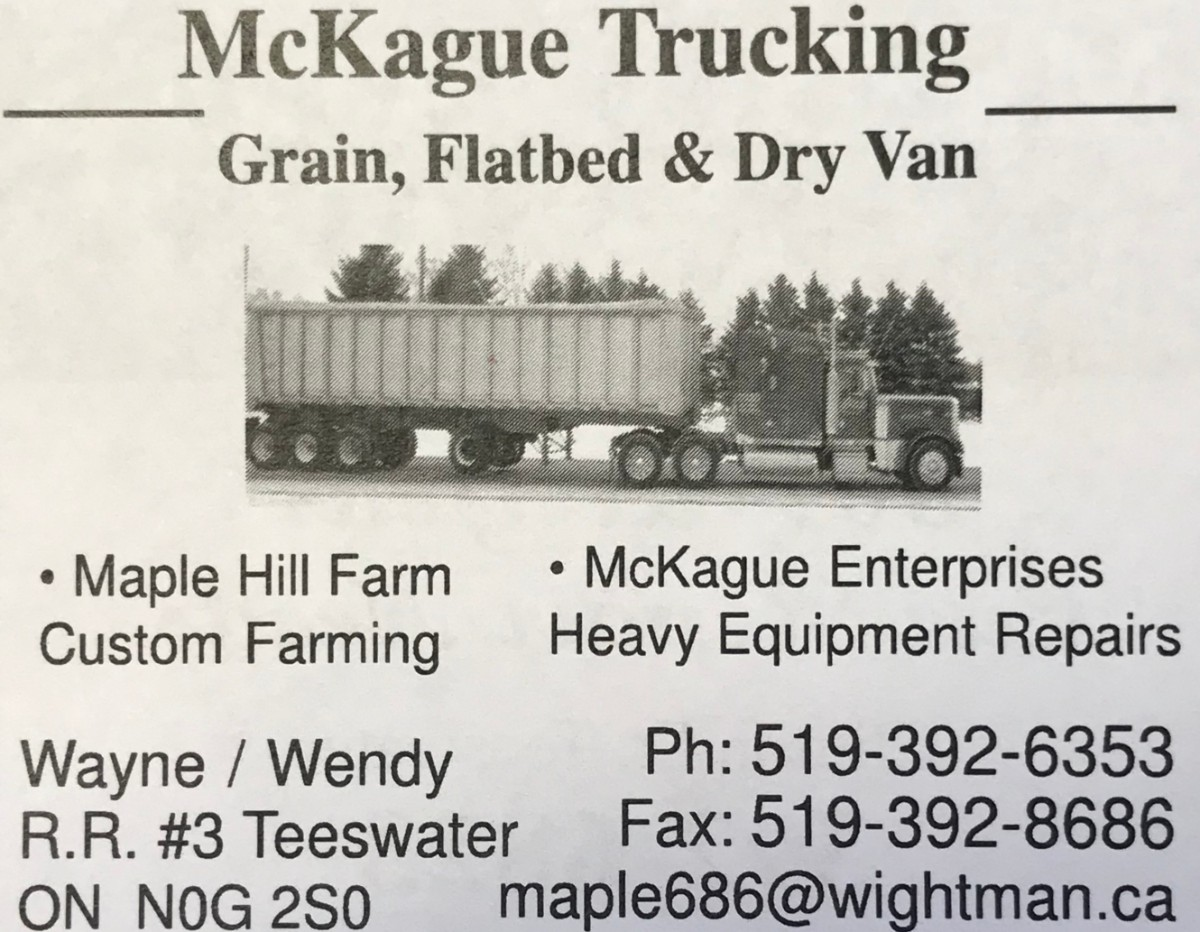 Maple Hill Farms - McKague Trucking