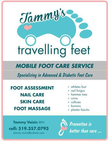 Tammy's Travelling Feet