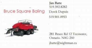 Bruce Square Baling